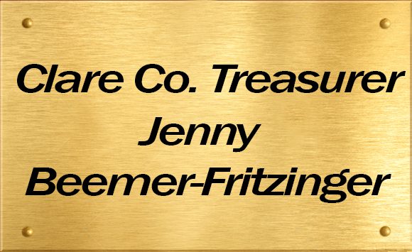 Clare Co. Treasurer Jenny Beemer-Fritzinger
