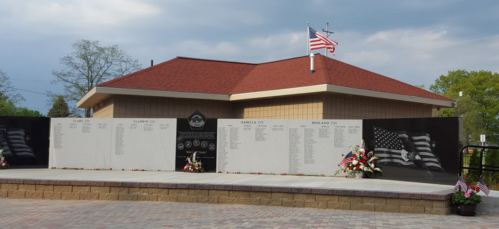 Veterans Freedom Park's Wall Of Tears